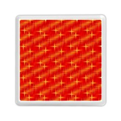 Many Stars,red Memory Card Reader (square)
