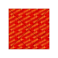 Many Stars,red Acrylic Tangram Puzzle (4  x 4 )