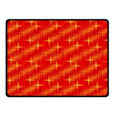 Many Stars,red Double Sided Fleece Blanket (Small)