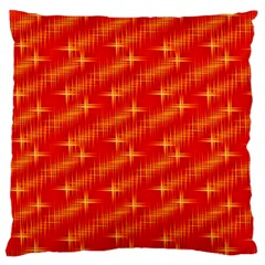 Many Stars,red Standard Flano Cushion Cases (One Side)