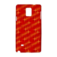 Many Stars,red Samsung Galaxy Note 4 Hardshell Case