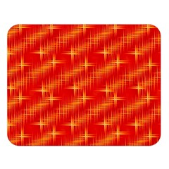 Many Stars,red Double Sided Flano Blanket (Large)