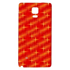 Many Stars,red Galaxy Note 4 Back Case