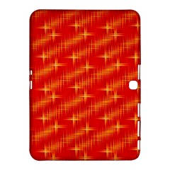 Many Stars,red Samsung Galaxy Tab 4 (10.1 ) Hardshell Case