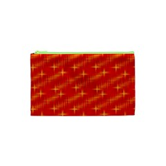 Many Stars,red Cosmetic Bag (XS)