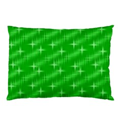 Many Stars, Neon Green Pillow Cases