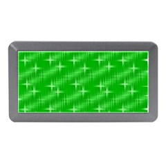Many Stars, Neon Green Memory Card Reader (Mini)
