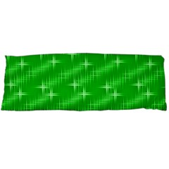 Many Stars, Neon Green Body Pillow Cases Dakimakura (Two Sides)