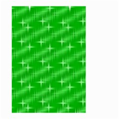 Many Stars, Neon Green Small Garden Flag (Two Sides)