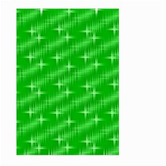 Many Stars, Neon Green Large Garden Flag (Two Sides)