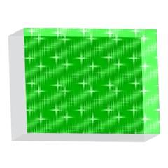 Many Stars, Neon Green 5 x 7  Acrylic Photo Blocks