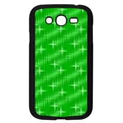 Many Stars, Neon Green Samsung Galaxy Grand Duos I9082 Case (black)