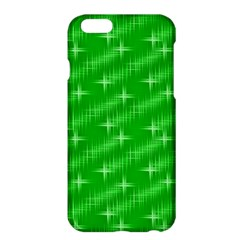 Many Stars, Neon Green Apple Iphone 6 Plus Hardshell Case