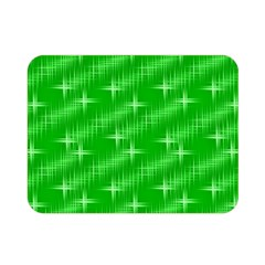 Many Stars, Neon Green Double Sided Flano Blanket (Mini)