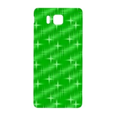 Many Stars, Neon Green Samsung Galaxy Alpha Hardshell Back Case