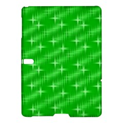 Many Stars, Neon Green Samsung Galaxy Tab S (10.5 ) Hardshell Case