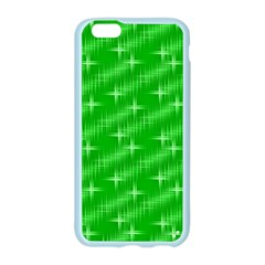 Many Stars, Neon Green Apple Seamless iPhone 6 Case (Color)