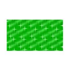 Many Stars, Neon Green Satin Wrap