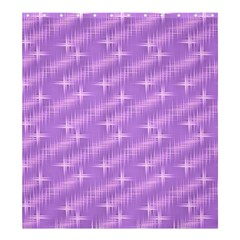 Many Stars, Lilac Shower Curtain 66  x 72  (Large)