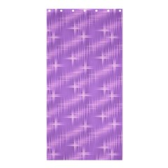 Many Stars, Lilac Shower Curtain 36  X 72  (stall)