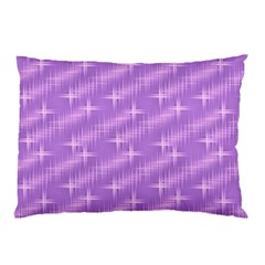 Many Stars, Lilac Pillow Cases (Two Sides)