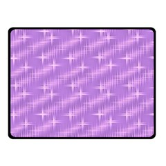 Many Stars, Lilac Double Sided Fleece Blanket (small)