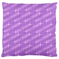 Many Stars, Lilac Standard Flano Cushion Cases (One Side)