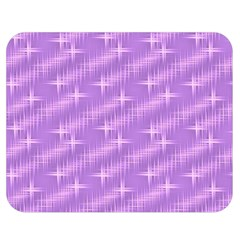 Many Stars, Lilac Double Sided Flano Blanket (Medium)