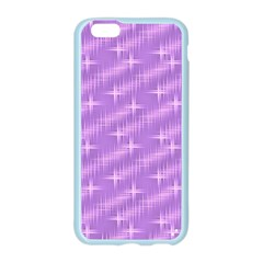 Many Stars, Lilac Apple Seamless iPhone 6 Case (Color)