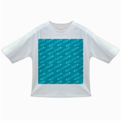Many Stars,aqua Infant/Toddler T-Shirts