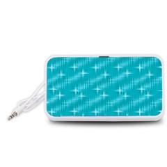 Many Stars,aqua Portable Speaker (White)