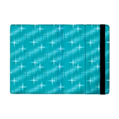 Many Stars,aqua Ipad Mini 2 Flip Cases