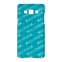 Many Stars,aqua Samsung Galaxy A5 Hardshell Case