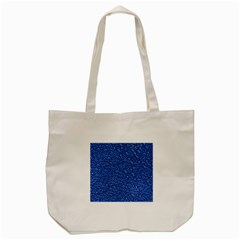 Sparkling Glitter Blue Tote Bag (Cream)