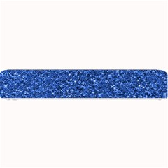 Sparkling Glitter Blue Small Bar Mats