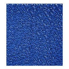 Sparkling Glitter Blue Shower Curtain 66  x 72  (Large)