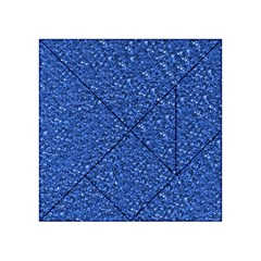 Sparkling Glitter Blue Acrylic Tangram Puzzle (4  x 4 )