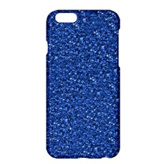Sparkling Glitter Blue Apple Iphone 6 Plus Hardshell Case
