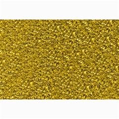 Sparkling Glitter Golden Collage 12  X 18