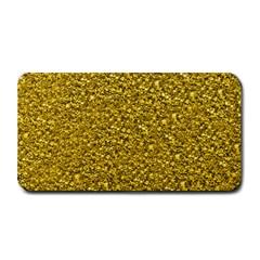 Sparkling Glitter Golden Medium Bar Mats