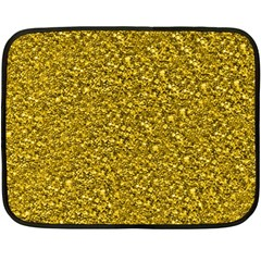 Sparkling Glitter Golden Fleece Blanket (Mini)