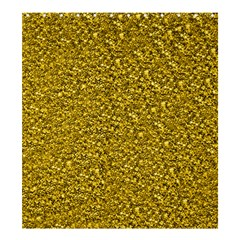 Sparkling Glitter Golden Shower Curtain 66  x 72  (Large)