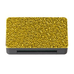 Sparkling Glitter Golden Memory Card Reader with CF