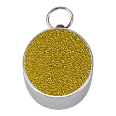Sparkling Glitter Golden Mini Silver Compasses