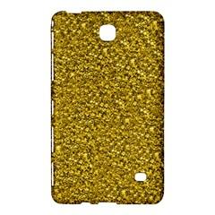Sparkling Glitter Golden Samsung Galaxy Tab 4 (8 ) Hardshell Case
