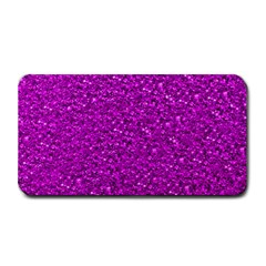 Sparkling Glitter Hot Pink Medium Bar Mats