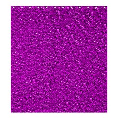 Sparkling Glitter Hot Pink Shower Curtain 66  x 72  (Large)