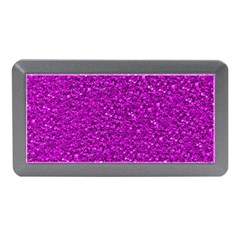 Sparkling Glitter Hot Pink Memory Card Reader (mini)