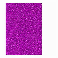 Sparkling Glitter Hot Pink Small Garden Flag (two Sides)