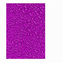 Sparkling Glitter Hot Pink Large Garden Flag (two Sides)